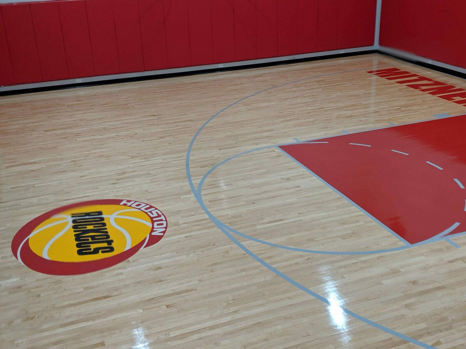 Houston Rockets court-logo