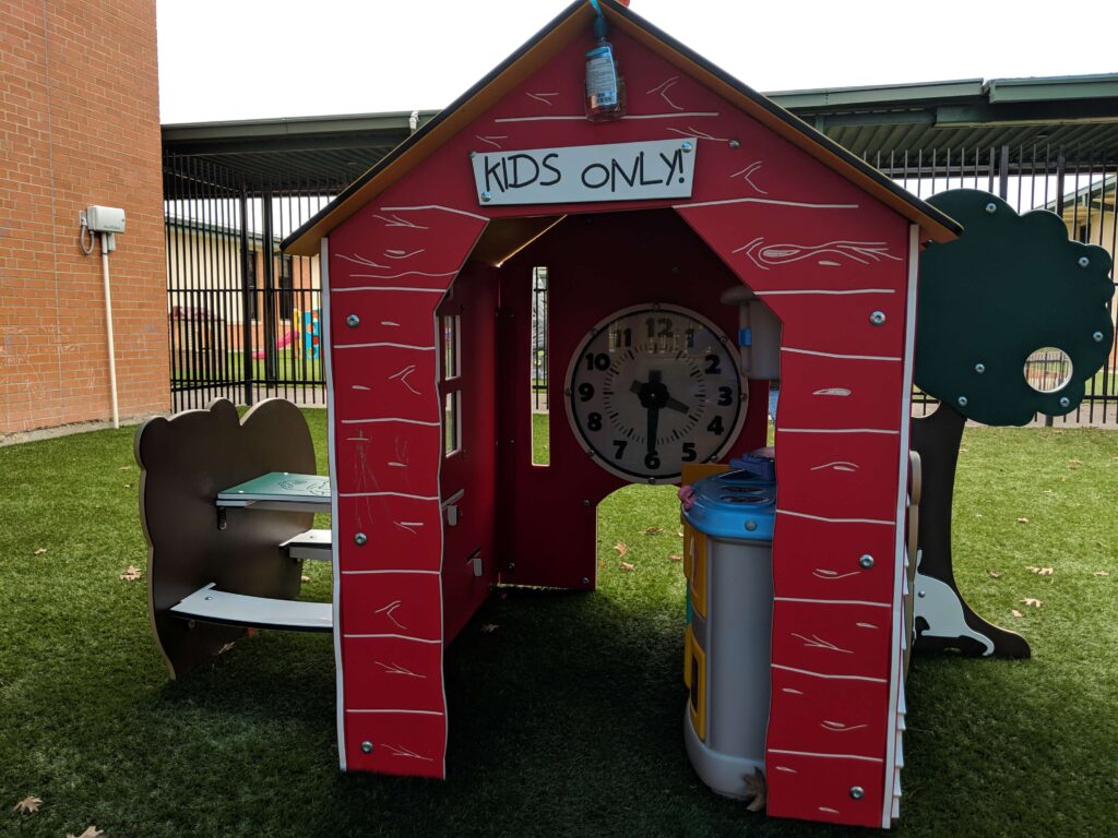 'Kids only' playhouse
